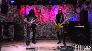 Michael Angelo Batio - 8 Pillars of Steel - Guitar World Performance