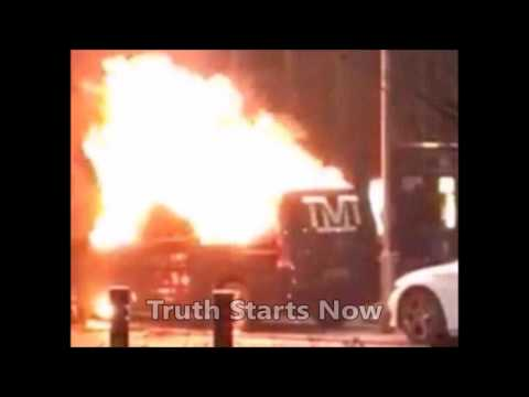 Floyd Mayweather's Van Set On Fire During Trip To Birmingham (UK)