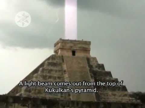 Pyramids Emmiting Light You