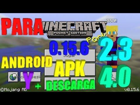 descargar minecraft pe apk para android 2.3.6