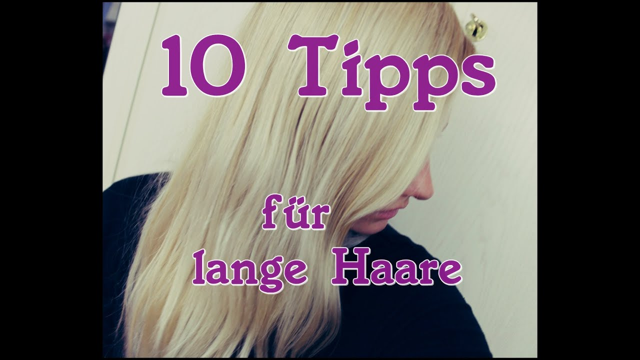 10 tipps f r lange haare pflege haarwachstum anregen biyou youtube. Black Bedroom Furniture Sets. Home Design Ideas