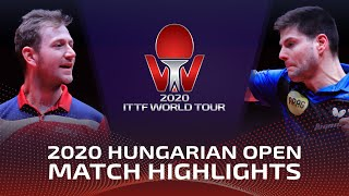 Дмитрий Овчаров vs Pavel Sirucek | Hungarian Open 2020 (1/4)