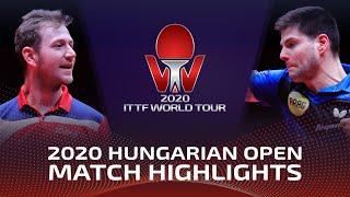Дмитрий Овчаров vs Pavel Sirucek | Hungarian Open 2020 (1/4)