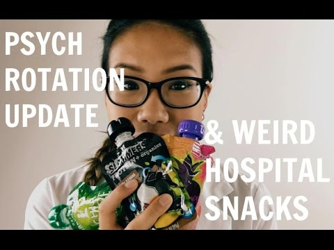 Life in Medical School: My Psychiatry Rotation & Weird Hospital Snacks |  Medicine Vlog
