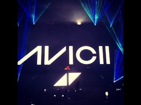 Avicii live 'Opening act'  True Tour  - Stockholm, Tele2arena, Sweden