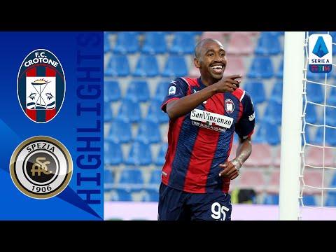 Crotone Spezia Goals And Highlights