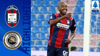 Crotone secures victory in second half, following 1-1 draw first half. goals by messias, reca, henrique and farias. | serie a tim this is the official c...