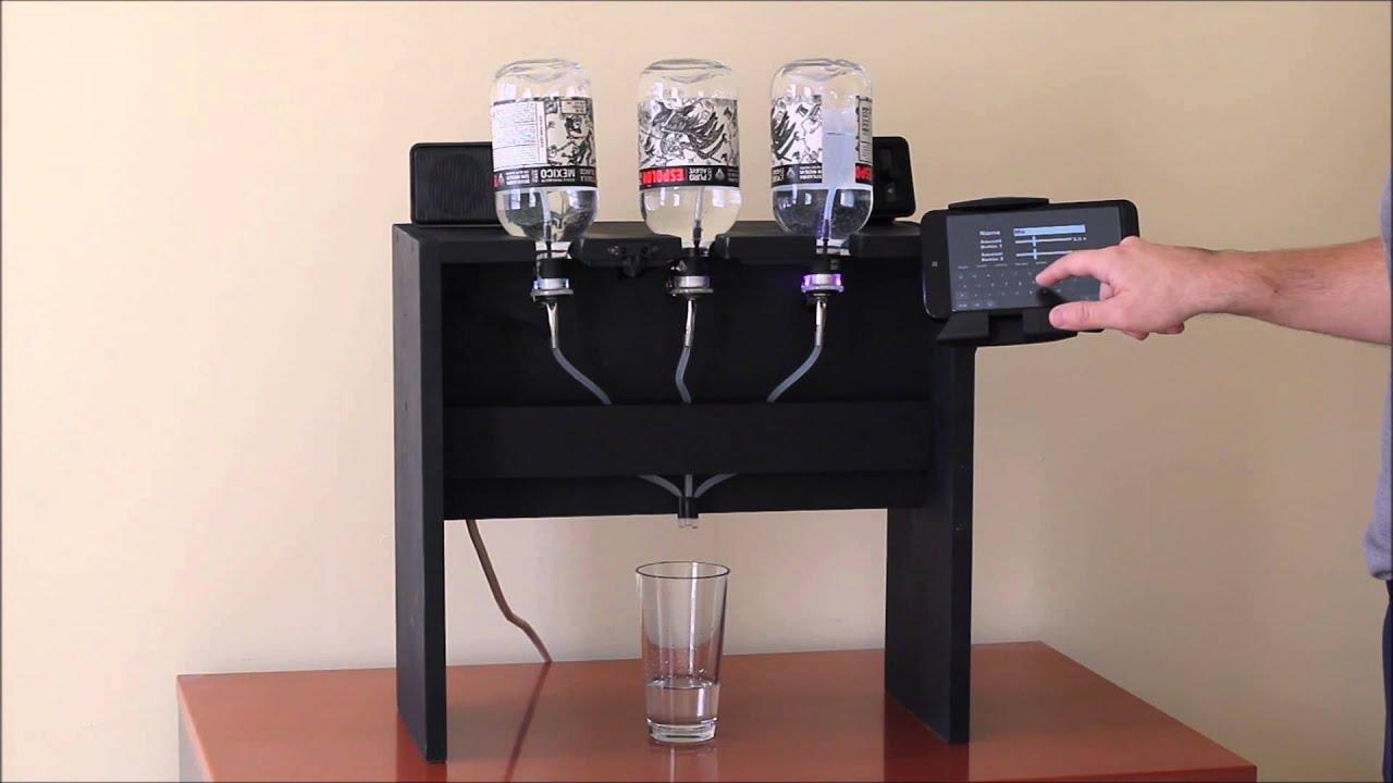 automatic cocktail maker youtube. Black Bedroom Furniture Sets. Home Design Ideas