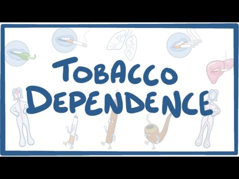 Tobacco Dependence – causes, symptoms, diagnosis, treatment, pathology