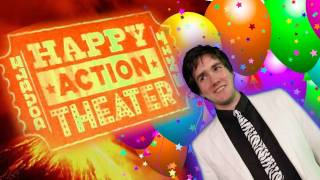 Happy Action Theater Kinect Acid Trip Mayhem Lava Dance! Double Fine