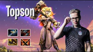 Topson - Dawnbreaker | EZ NEW HERO | Dota 2 Pro Players Gameplay | Spotnet Dota 2