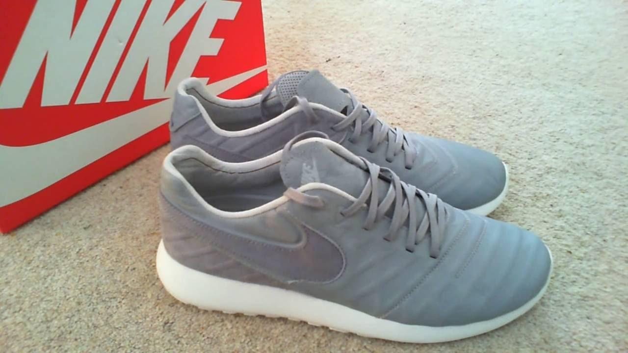 15caf0fdd78f Nike Roshe Tiempo VI QS Wolf Grey   Summit White   Metallic Gold   Pure  Platinum