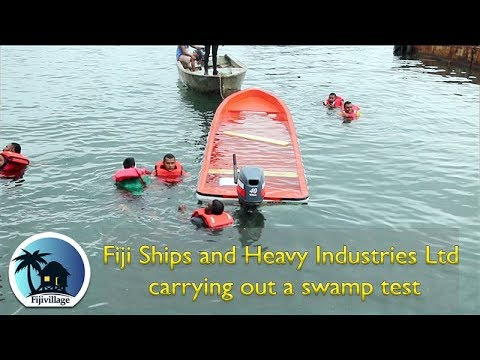 Fiji Ships and Heavy Industries Ltd carrying out a Swamp Test