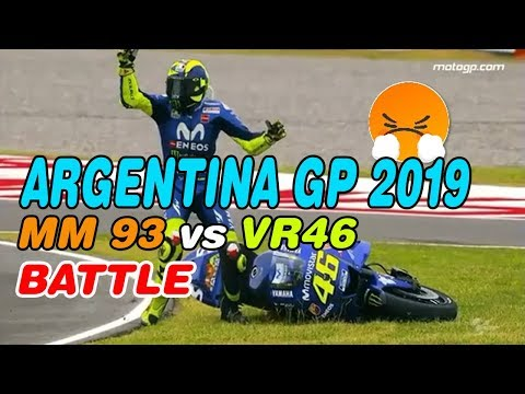 Who Will Win Argentina MotoGP 2019 : Marc Marquez MM93 vs Valentino Rossi VR46