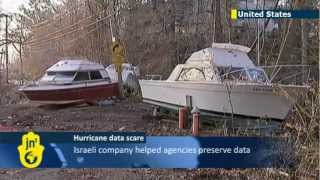 Israeli Hi-Tech Saves Sandy Data: online backup helps reduce Hurricane Sandy IT impact
