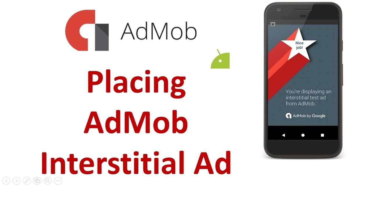 AdMob Android tutorial - Placing Interstitial Ads