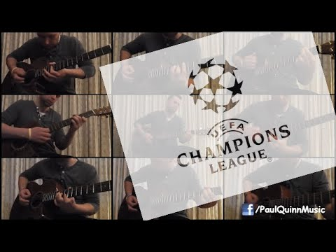UEFA Champions League Anthem - Paul Quinn (Acoustic Guitar)