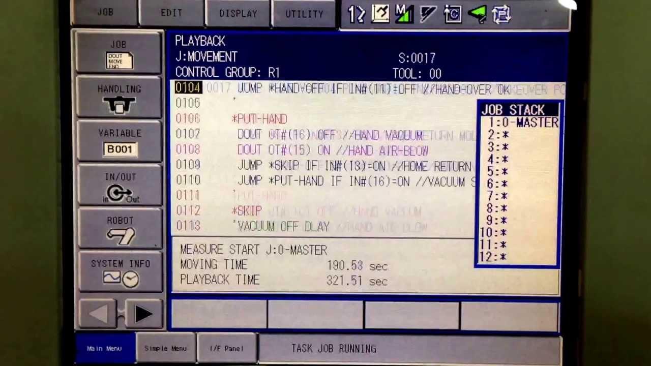 yaskawa dx100 manual product user guide instruction u2022 rh testdpc co motoman dx100 basic programming training manual pdf motoman dx100 advanced programming manual