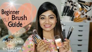 Best Affordable Makeup Brushes   Brush Guide For Beginners   EBAY Best Makeup Brush sets