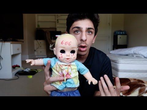 The creepy doll followed me from the tunnel... | FaZe Rug