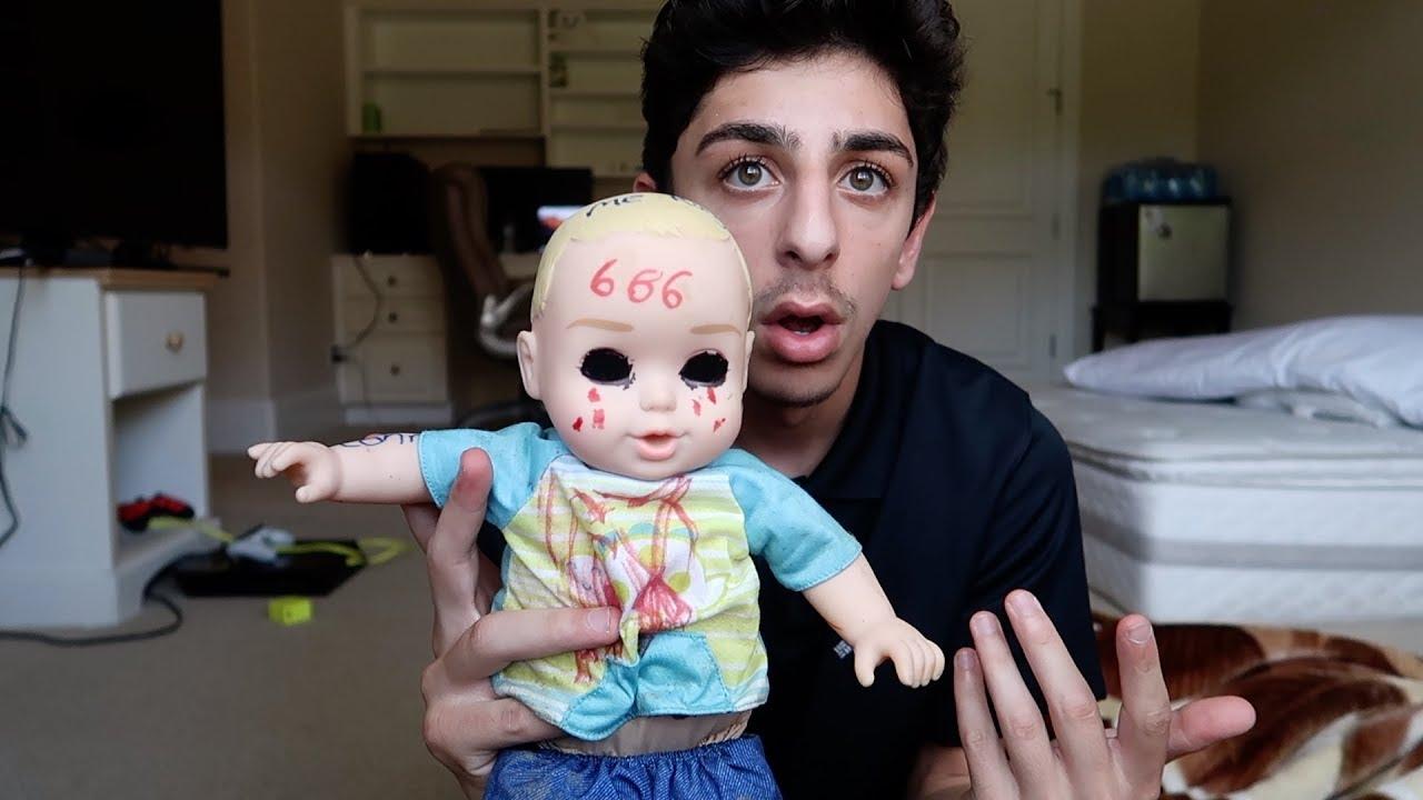 The Creepy Doll Followed Me From The Tunnel Faze Rug