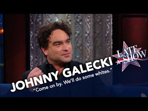 Johnny Galecki Is Skipping The Inauguration To Do Laundry fragman