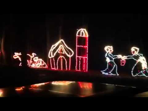 UPMC Hartwood Acres Celebration of Lights - YouTube