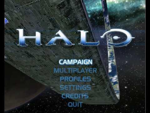HALO Main menu