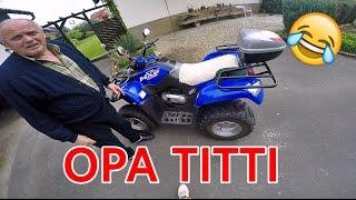 Opa Titti | Ich fahre zum ersten Mal Quad | Harzi Tanzt
