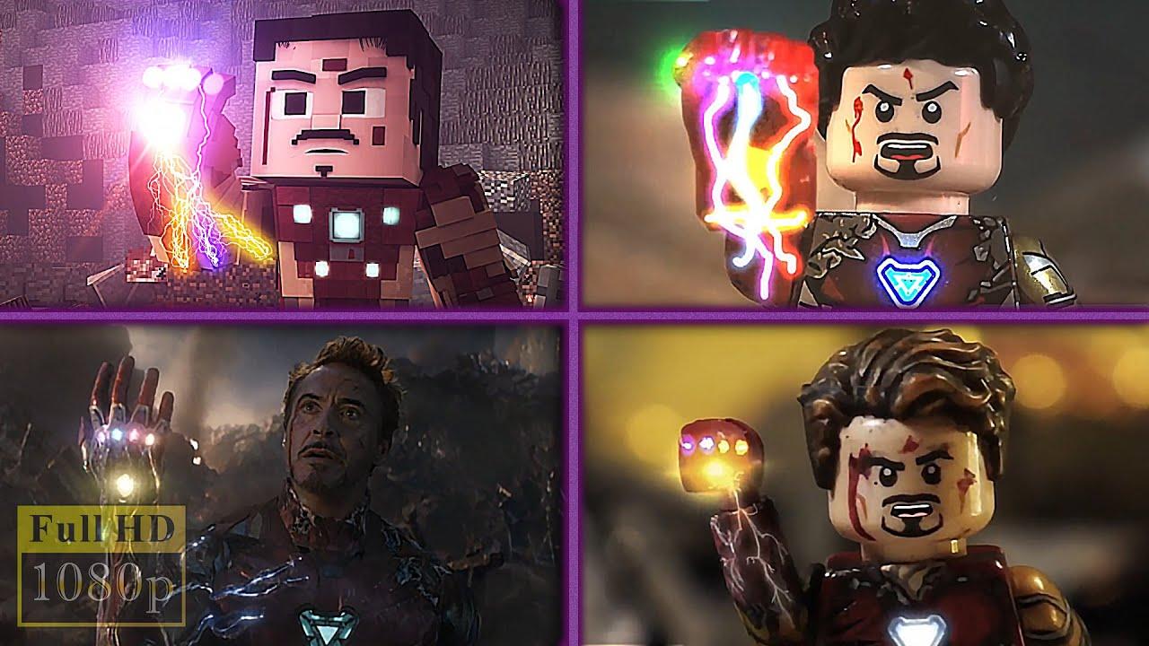Avengers Endgame Final Battle (Lego, Minecraft, Marvel ...