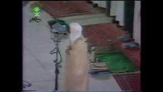 آخر الذاريات من صلاة العشاء للشيخ د.عمر السبيل رحمه الله