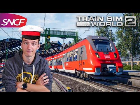 JE DEVIENS CONDUCTEUR DE TRAIN ! Train Sim World 2