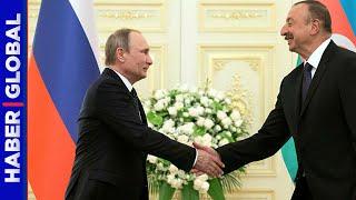 Kremlin'den Samimi Görüntüler! İşte Aliyev-Putin Görüşmesinin Detayları