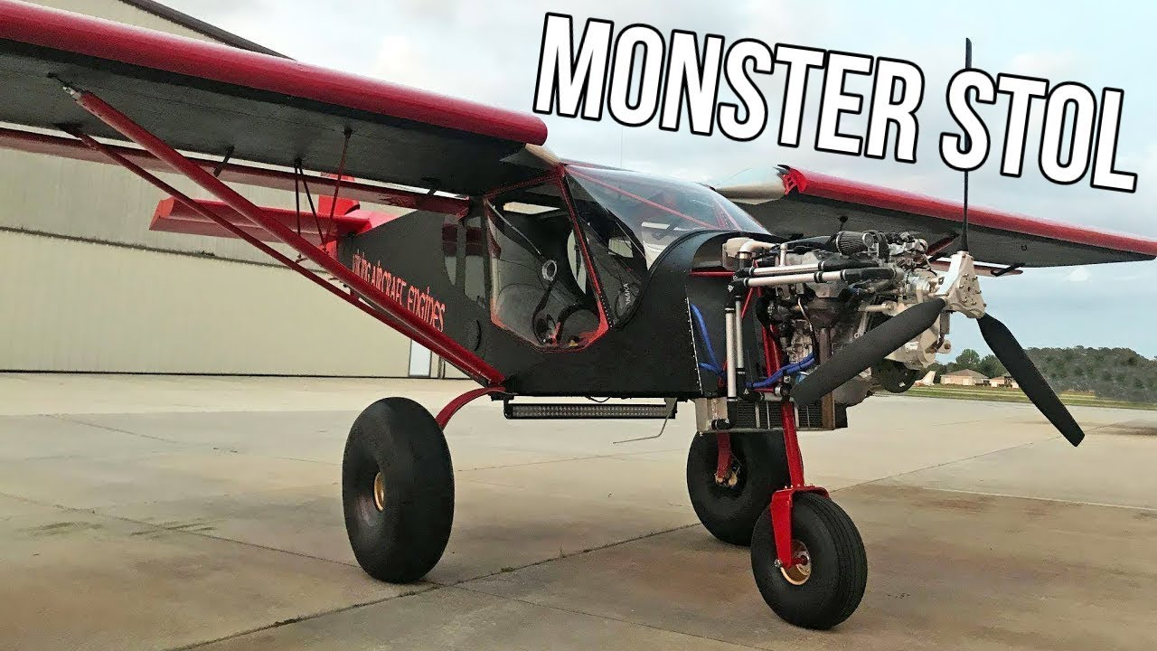 Zenith Super Duty CH 750 STOL l Powered By Viking 180 HP Engine