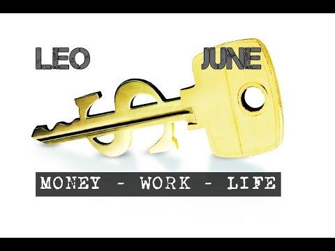 LEO JUNE 2018 MONEY-WORK-LIFE In-depth Tarot