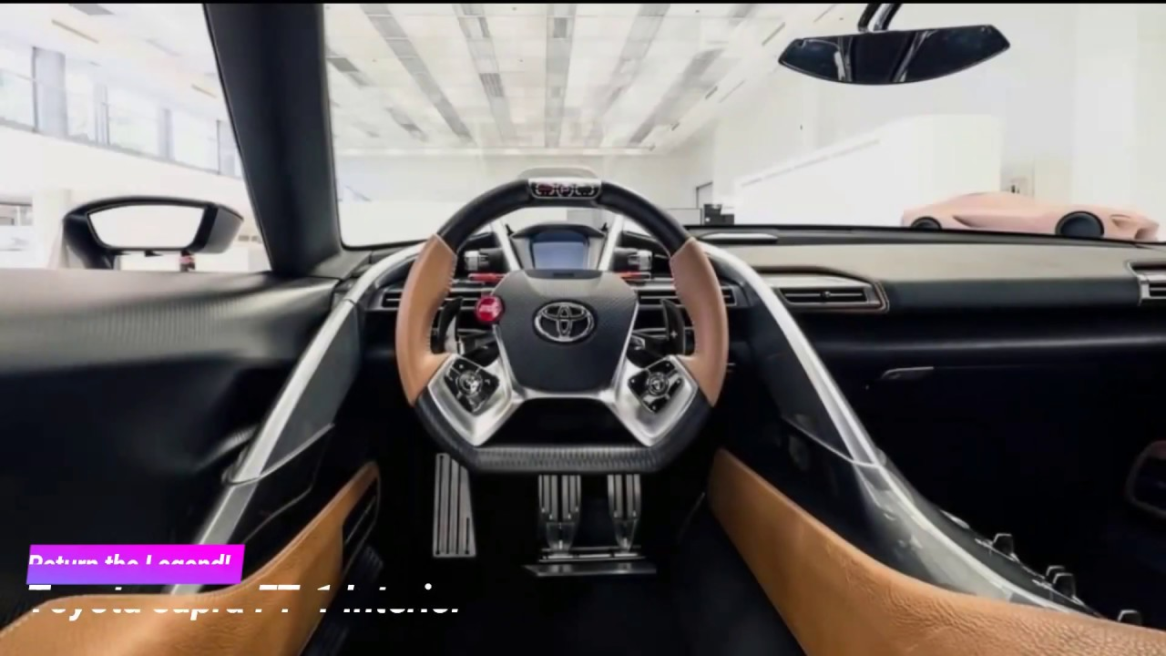 2018 Toyota Supra Ft 1 Interior And Exterior Design Return Of The