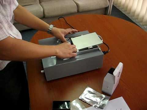 LH TECH Flash Stamp Machine ProcessAVI