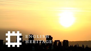 Summer Solstice Sunrise Live at Stonehenge 2017