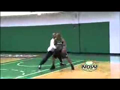 Ray Allen And Sam Cassell Plays One on One