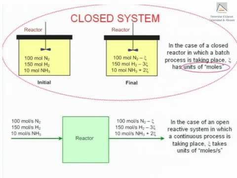 Extent of reaction: definition and application to systems consisting of one or more process units