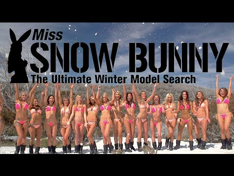 Miss Snow Bunny - The Ultimate Winter Model Search