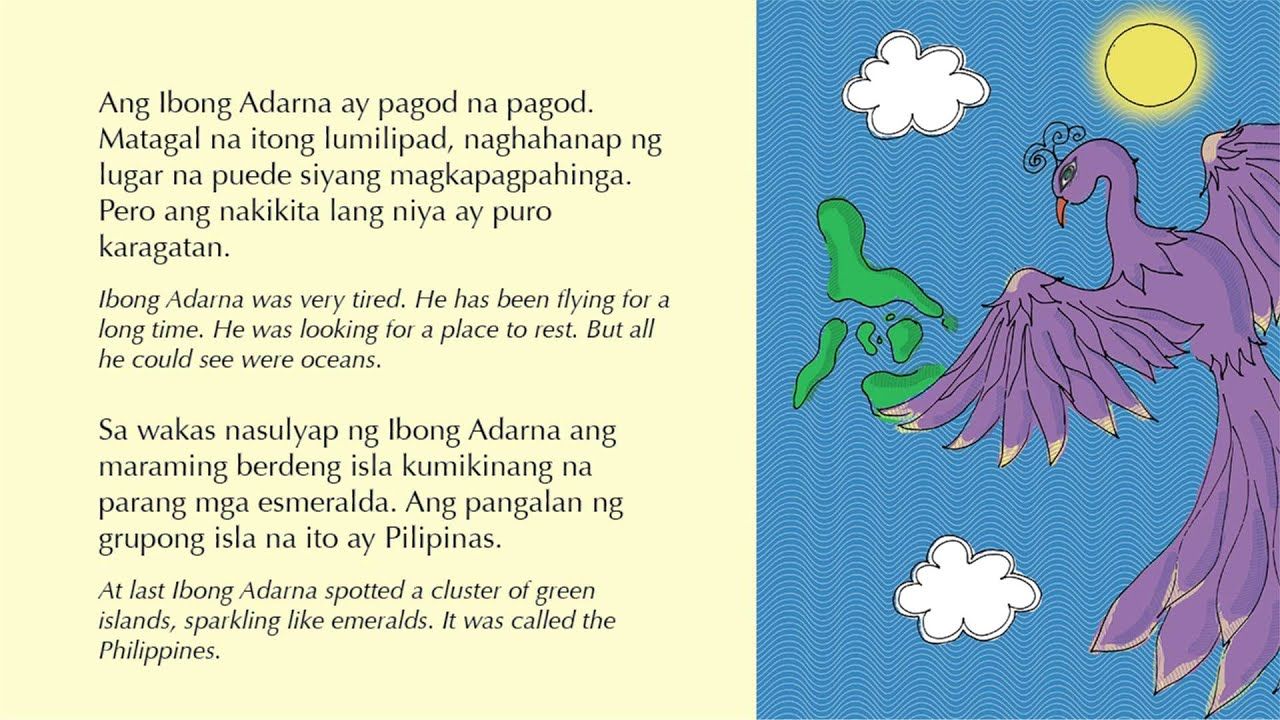 Book Report in Filipino