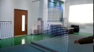 Прозрачный светодиодный экран/LED Screen/Diodtech(Прозрачный светодиодный экран - отличное решение для оформления витрин магазинов, кафе, и др заведений...., 2014-03-31T07:16:07.000Z)