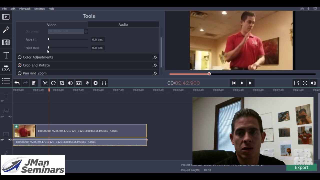 Tips for beginners: how to crop videos
