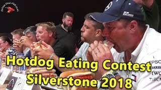 Hotdog Eating Contest F1 Grand Prix Silverstone Woodlands 2018
