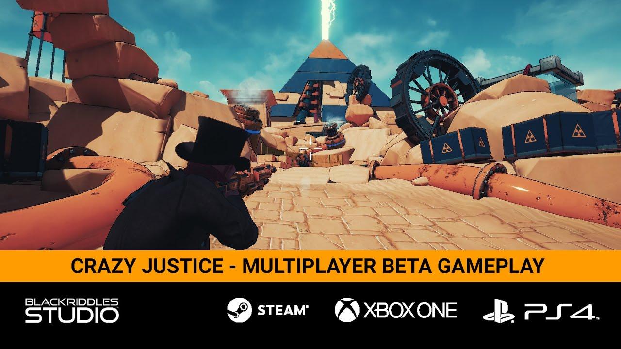 Crazy Justice - Multiplayer Beta Gameplay - YouTube