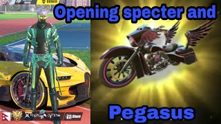 Opening Specter / Pegasus / Rules of survival