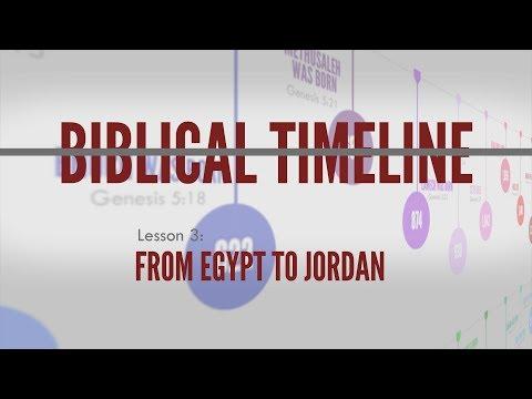 3. From Egypt to Jordan | Biblical Timeline