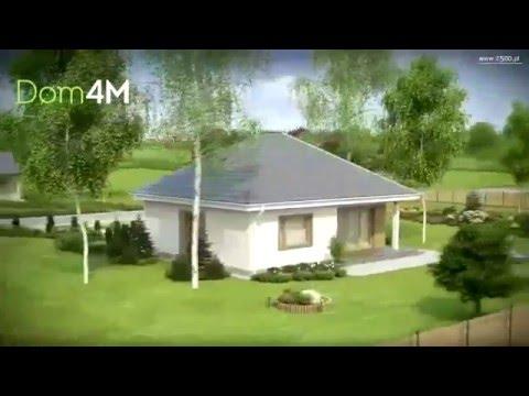 4M464 Проект одноэтажного дома 10 на 10