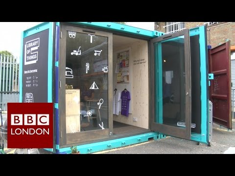 Library of things - BBC London News